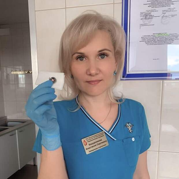 В Северном Тушине врачи извлекли магнит из желудка ребёнка