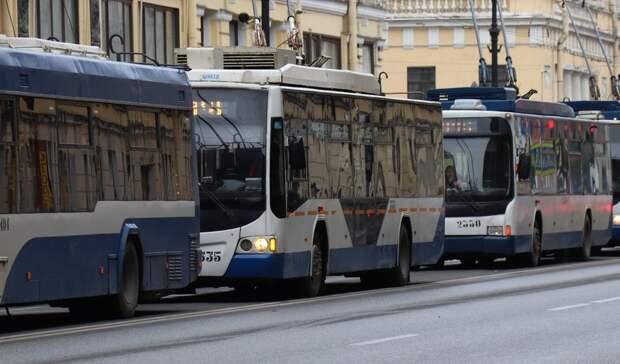 Два троллейбусных маршрута временно отменили вРостове