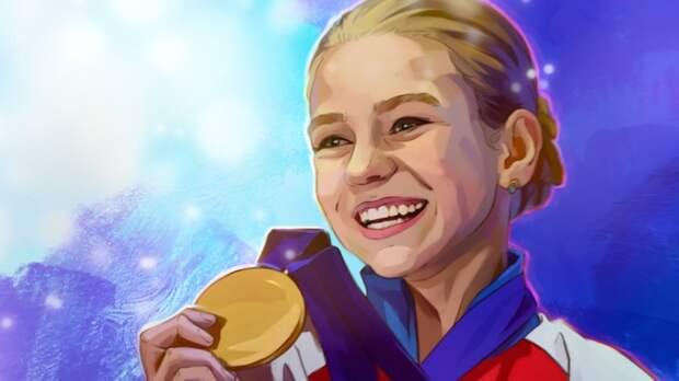 Российская фигуристка Трусова выиграла короткую программу на турнире в США
