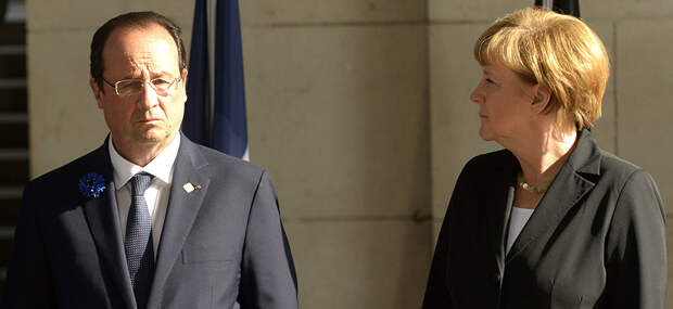 Париж поссорился с Берлином
