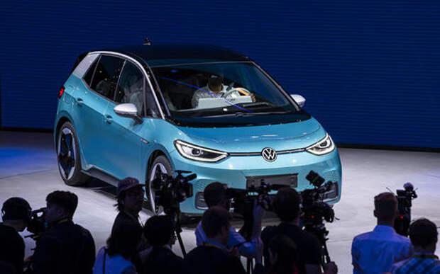 Volkswagen ID.3 – запас хода 550 км и бесплатная зарядка