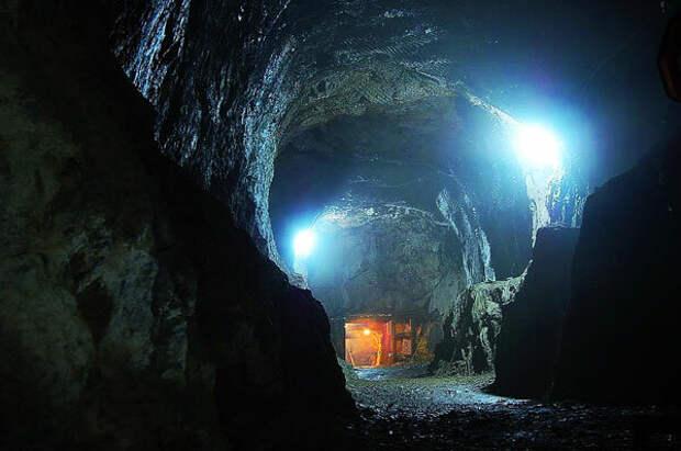 Lilly M. Штольня подземного комплекса «Гигант»