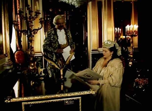 Кадр из второго фильма трилогии «Виват, гардемарины», 1991 год