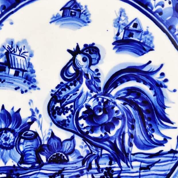 Роспись из Гжели, или Как возник национальный промысел