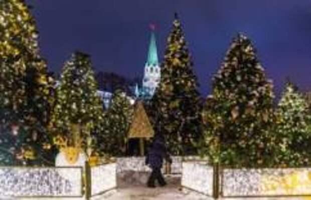Главные Новогодние ёлки России