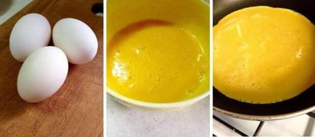 Омлет Пуляр. Удиви свою половинку. омлет, еда, livejournal, яйца, длиннопост, рецепт