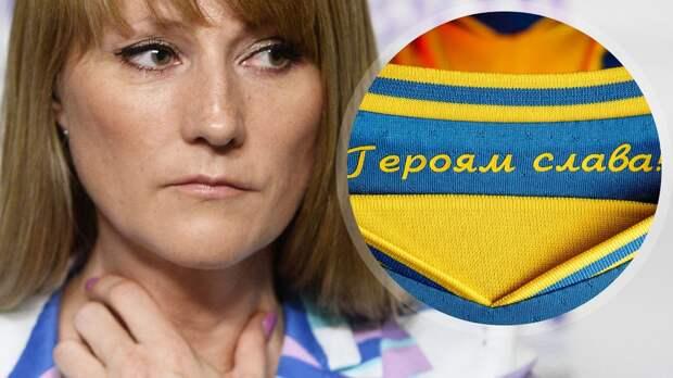 «Кто-то подсказал им это сделать». Депутат Журова призвала не допустить участие Украины в Евро с Крымом на форме