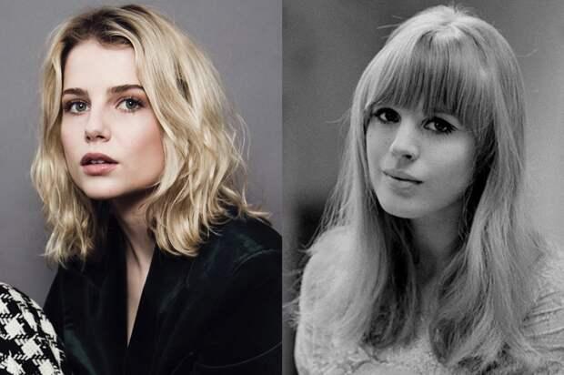 Люси Бойнтон станет рок-звездой Марианной Фейтфулл