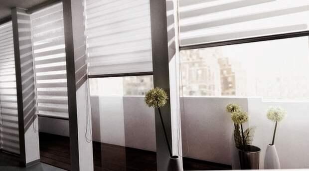 Шторы для балкона (подборка)