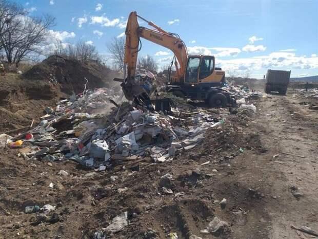 Рабочие начали уборку на Кузнецовском плато
