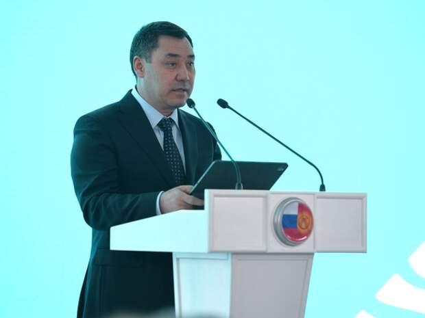 Глава Киргизии заявил об угрозе территориальной целостности страны из-за конфликта с Таджикистаном