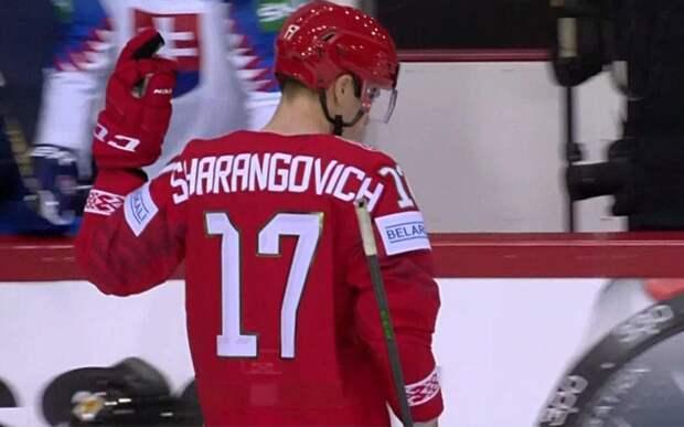Лидер сборной Белоруссии показал средний палец «скамейке» соперника во время матча ЧМ-2021