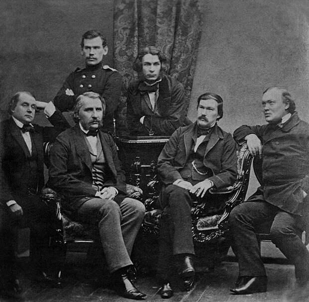 File:Russian writers by Levitsky 1856.jpg