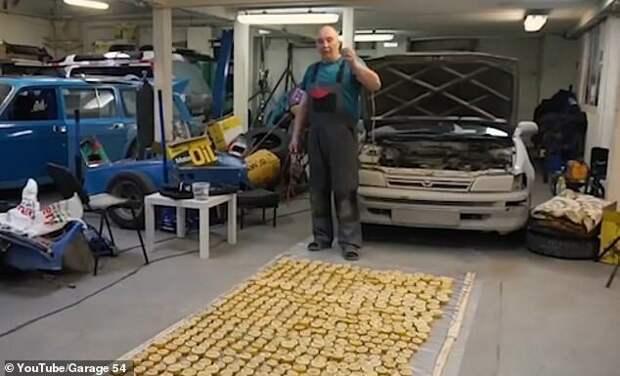 Умельцы из Новосибирска попробовали завести авто от лимонов youtube, авто, автомобили, видео, лимоны, машины, эксперимент, эксперименты