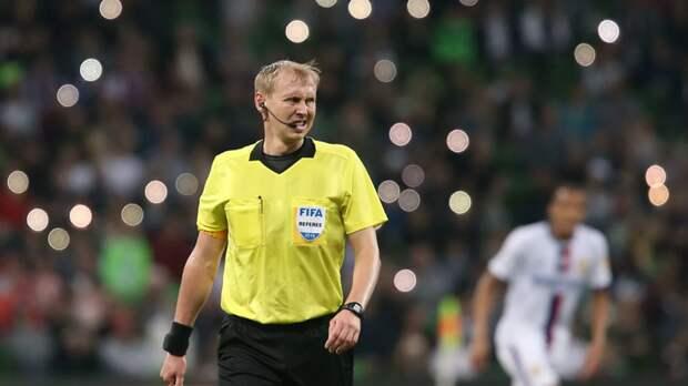 Российский арбитр Иванов назначен на матч Лиги Европы