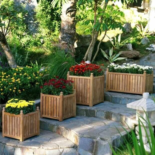Самодостаточная альтернатива клумбы: красивые кашпо для сада