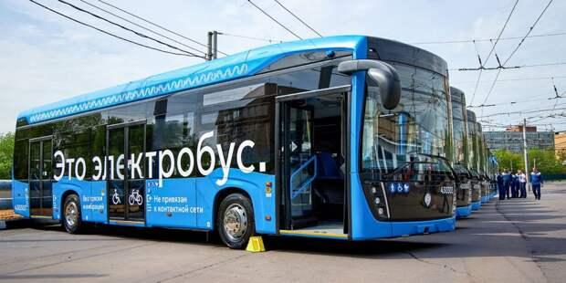 По проходящему через Свиблово маршруту №33 поехали электробусы