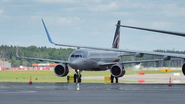 Самолет с российской делегацией и журналистами прилетел в Женеву