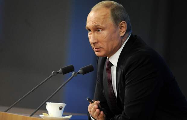Пресс-конференция президента РФ Владимира Путина 2013 году