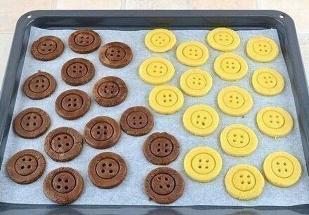 Печенье - пуговицы (мастер-класс)
