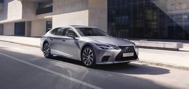 Обновленный Lexus LS: названы цены для России