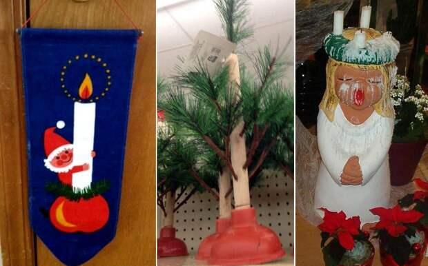 35 самых пошлых идурацких рождественских украшений, веселящих дослез