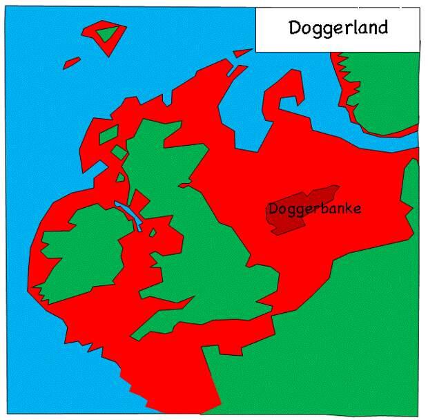 Доггерленд: часть Европы, затонувшая во время прошлого глобального потепления