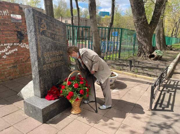 В Марфине почтили память погибших защитников Отечества – управа