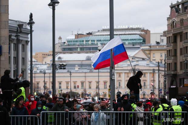 ВМВД назвали число участников митинга заНавального вМоскве