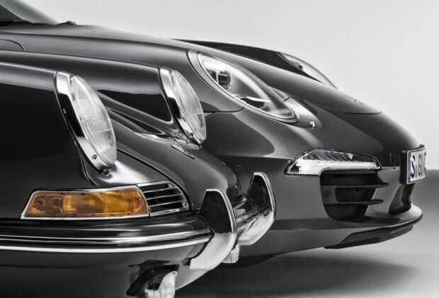 Porsche празднует 50-летие модели 911