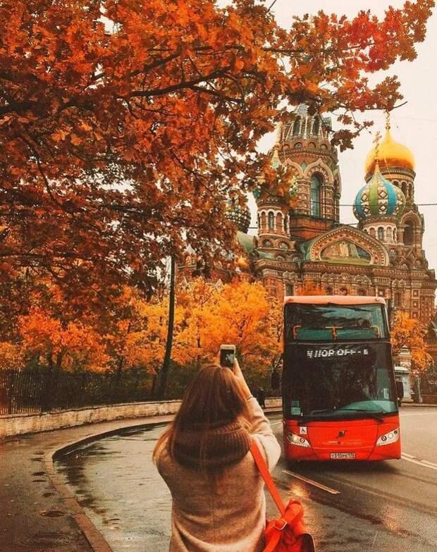Где делать лучшие осенние фото в Петербурге?