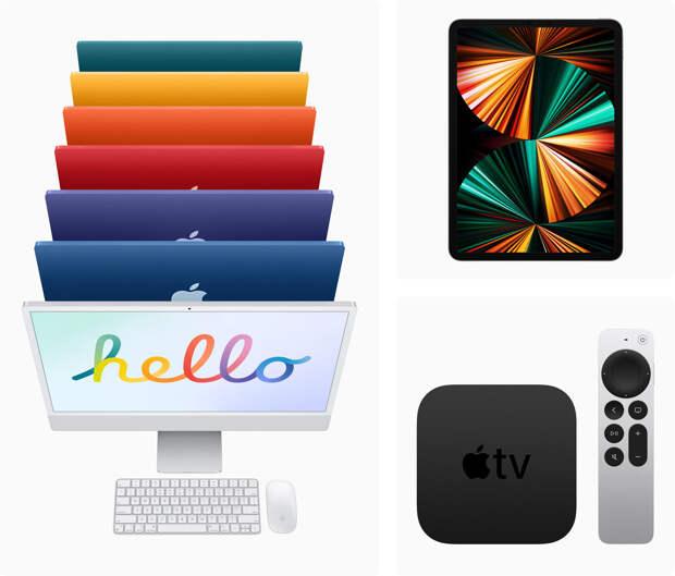Новые iMac в минималистичном дизайне и iPad Pro поступят в продажу в России 21 мая
