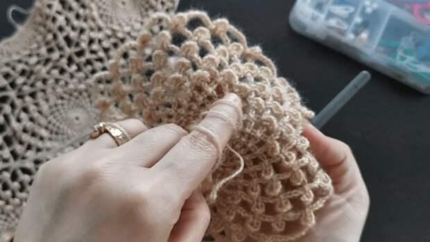 Когда простое кажется сложным: потрясающе красивая шаль, доступная даже новичкам