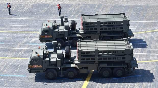 Начаты поставки зенитной ракетной системы С-350 «Витязь» в строевые части ПВО