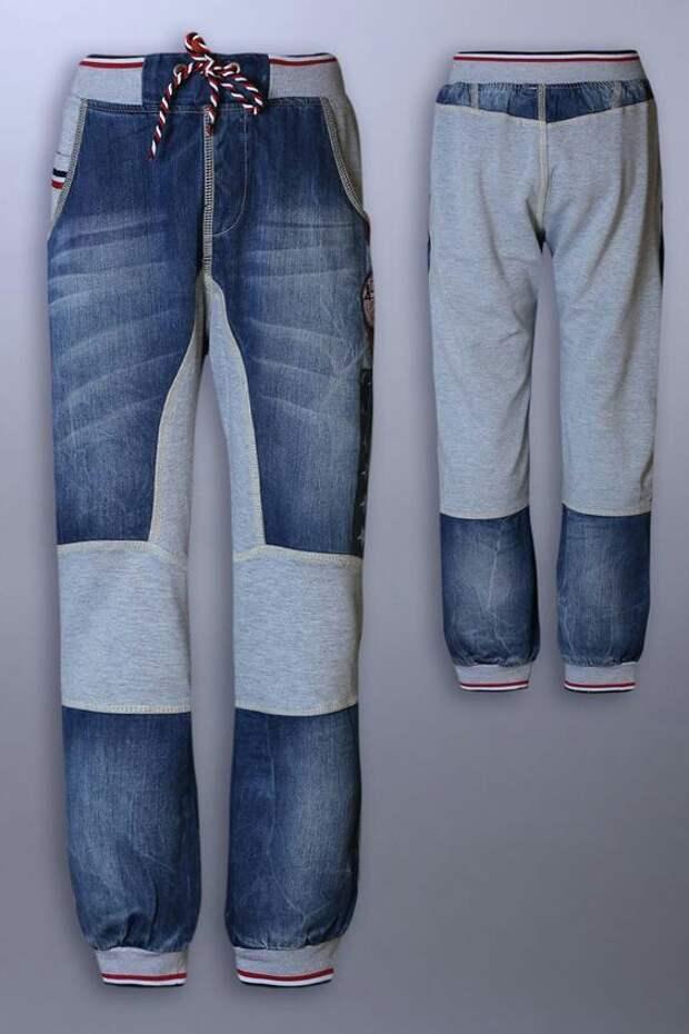 Спортивные... джинсы?!