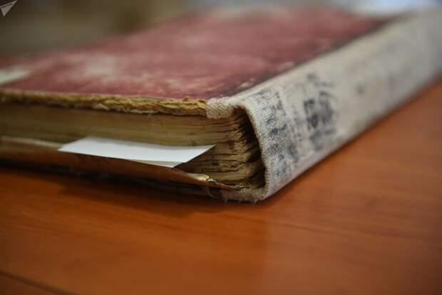 Метрическая книга Пинского уезда Минской губернии, где обнаружили запись о Рокоссовском