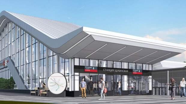 Новый городской вокзал в Щукине объединит метро, МЦД и наземный транспорт
