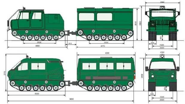 Поставки двухзвенных транспортеров ГАЗ-3344-20 Министерству обороны России ГАЗ-3344-20, двухзвенный, министерство обороны, поставки, россия, транспортеро