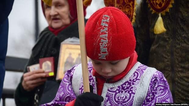 В Красноярске состоялся пятый детский крестный ход