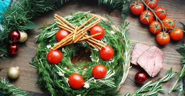 Украшение салатов на Новый 2021 год: как украсить, самые лучшие идеи34