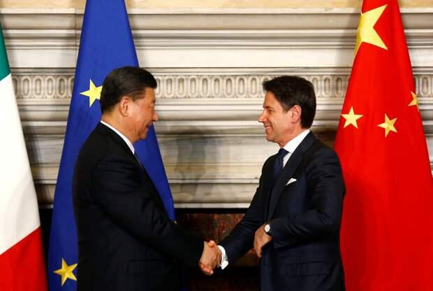 Чем опасен «один путь» Италии и Китая для США и ЕС?