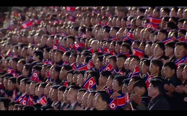 Парад в честь 75-летия Трудовой Партии Северной Кореи