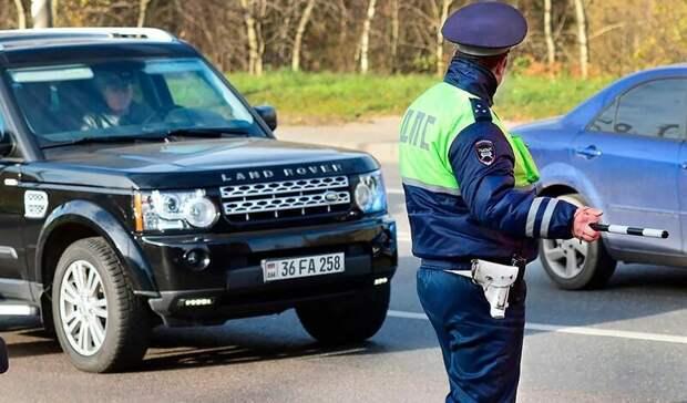 Водителей авто синостранными номерами просят соблюдать ПДД натюменских трассах