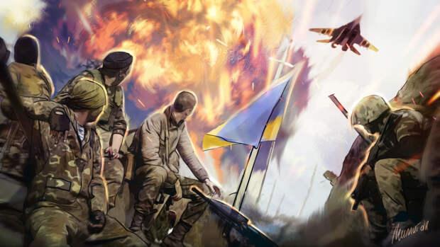 На украинском ТВ предупредили об опасности выдуманной «войны» с Россией