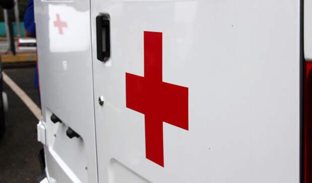 Мотоциклист попал вбольницу после жесткого ДТП натрассе вКарелии