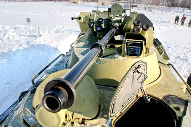 Российский БТР 82А – новинка Российского ВПК