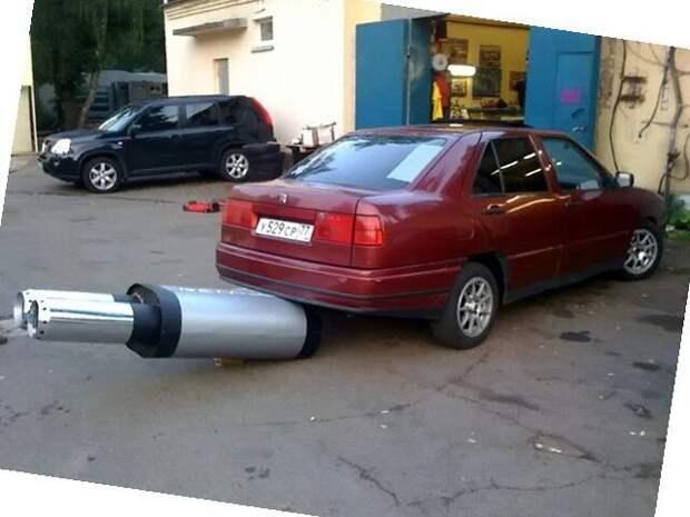 Выхлоп Автовсячина, авто, автоприкол, выхлоп, выхлопная, прикол