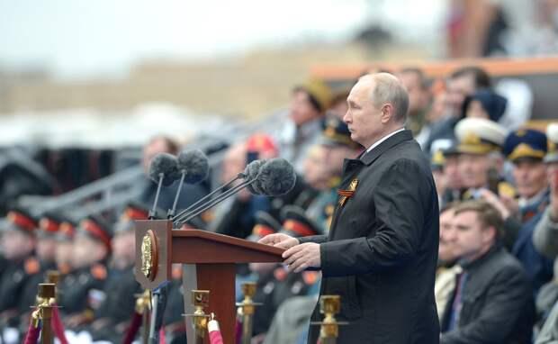ТГ-аналитики рассказали, о чем Путин не сказал в своей речи на параде Победы в этом году