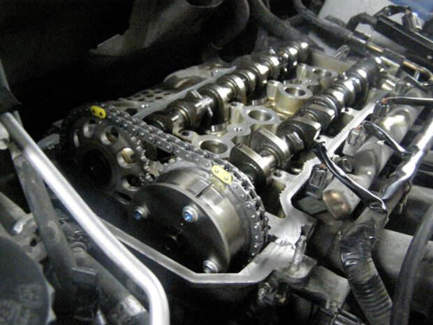 неправельное обслуживание двигателя