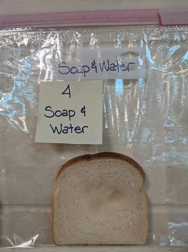 Простой школьный эксперимент по чистоте рук произвел такое впечатление, что дети теперь моют их без напоминания
